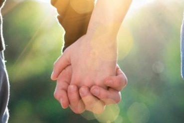 Paare finden sich auf Parship