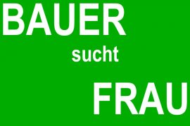 TV-Dating-Show: Bauer sucht Frau
