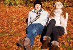 Flirten im Herbst