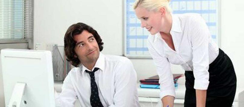 Flirten am Arbeitsplatz