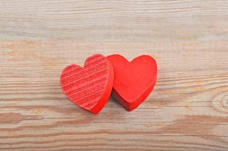 Flirt mit Herz